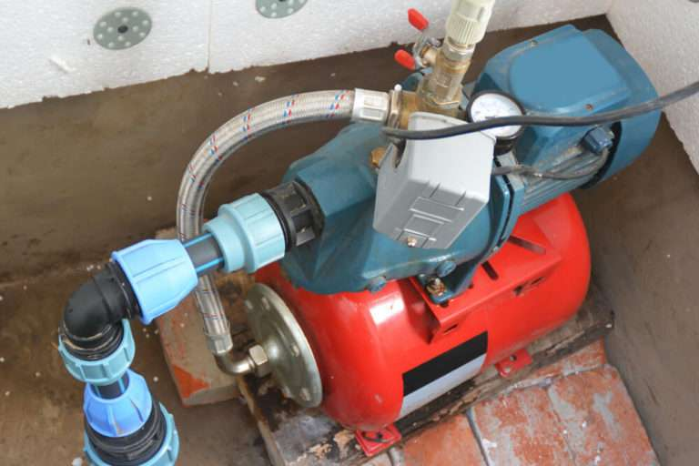 private well water pump testing and home inspection