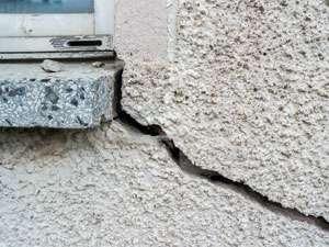 foundation crack home inspection