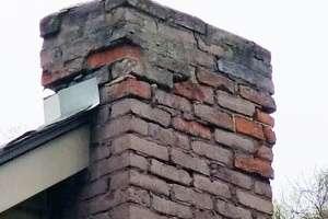 real estate chimney inspection deteriorating bricks