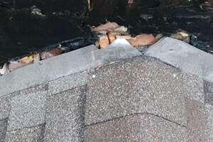 roof inspection loose damaged flashing